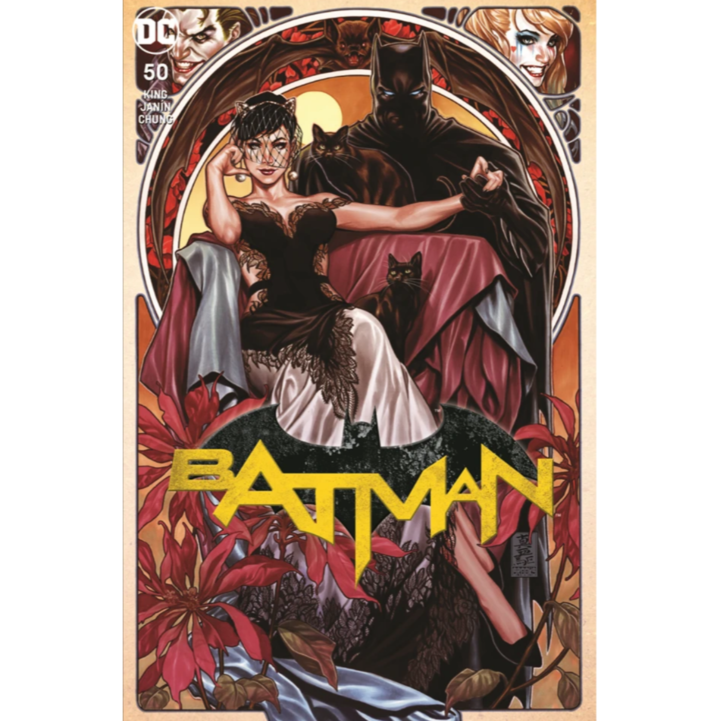 BATMAN #50 MARK BROOK EXCLUSIVE CVR