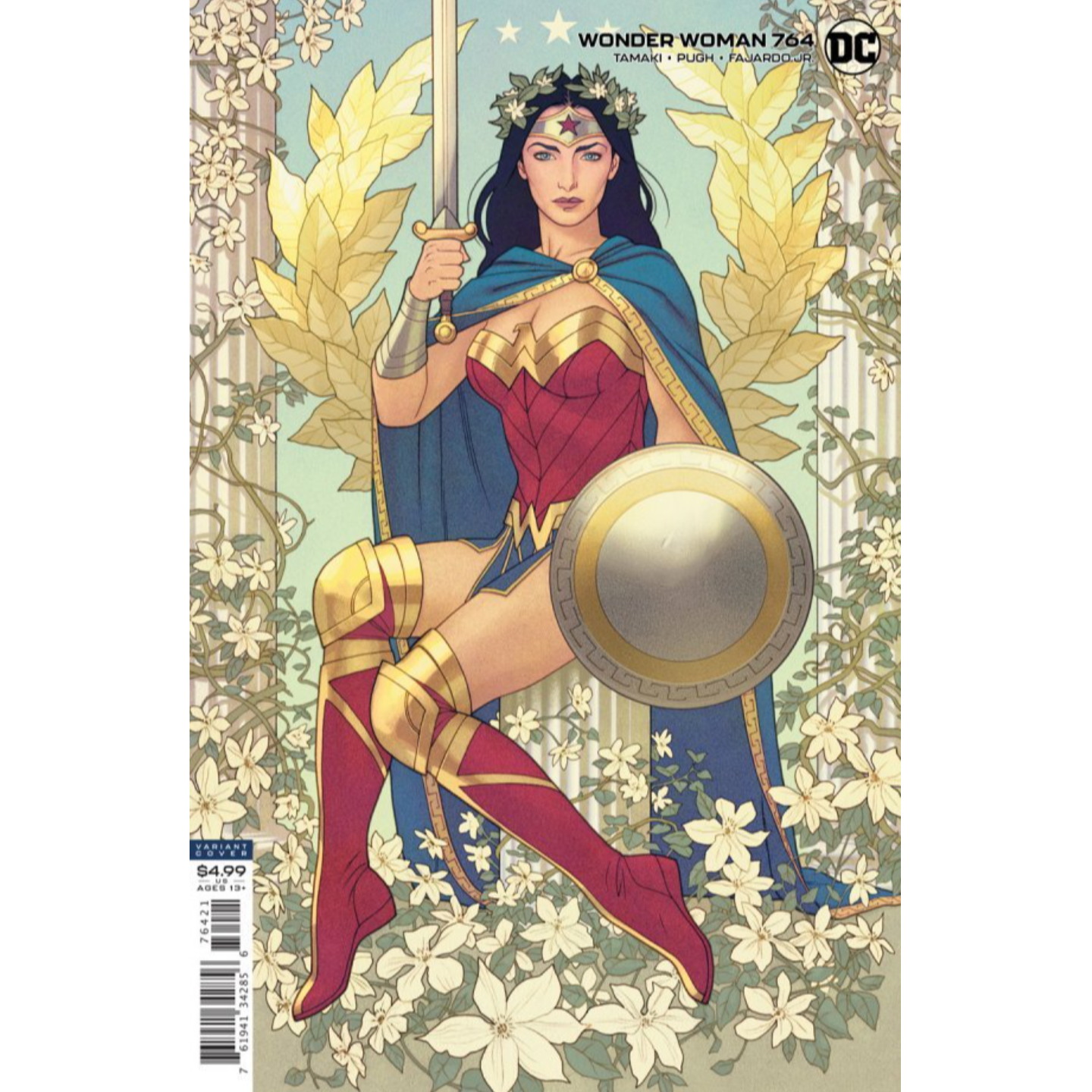 WONDER WOMAN #764 CVR B JOSHUA MIDDLETON CARD STOCK VAR