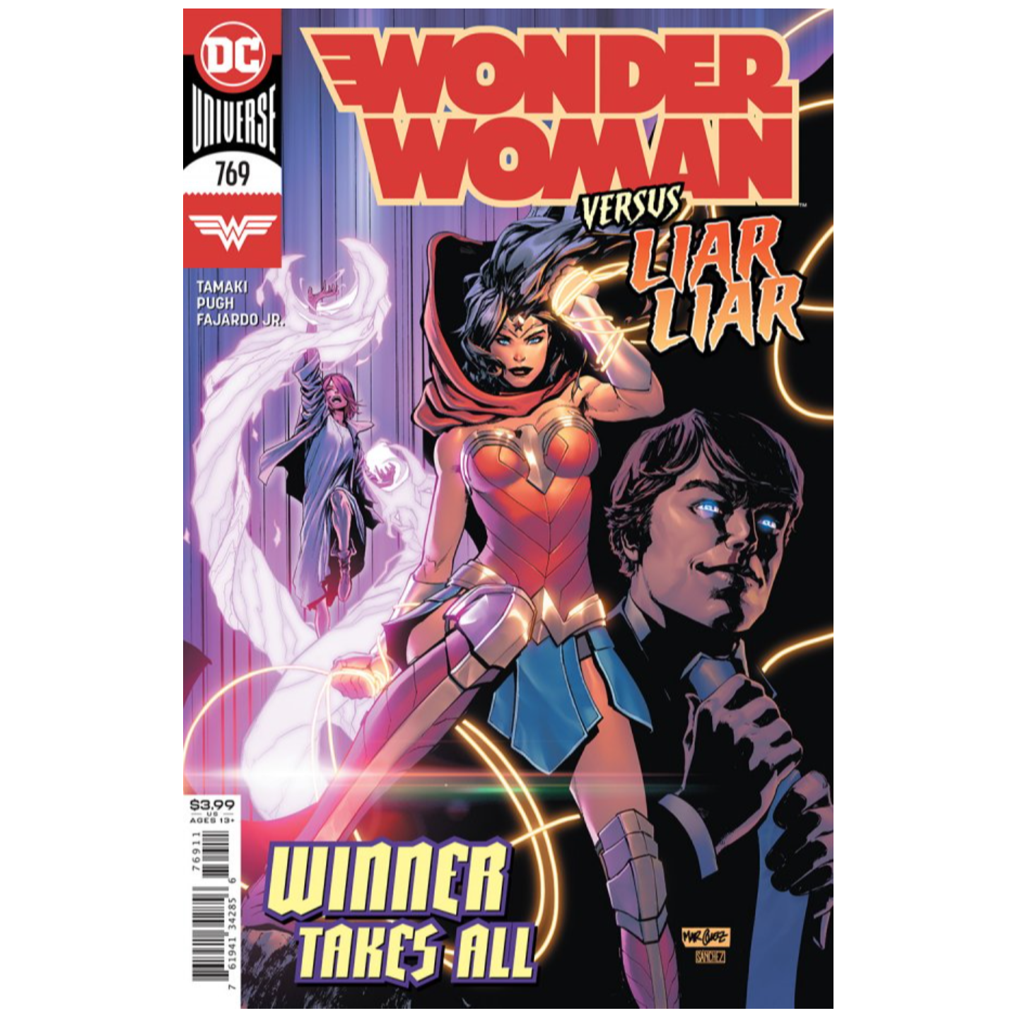 WONDER WOMAN #769 CVR A DAVID MARQUEZ
