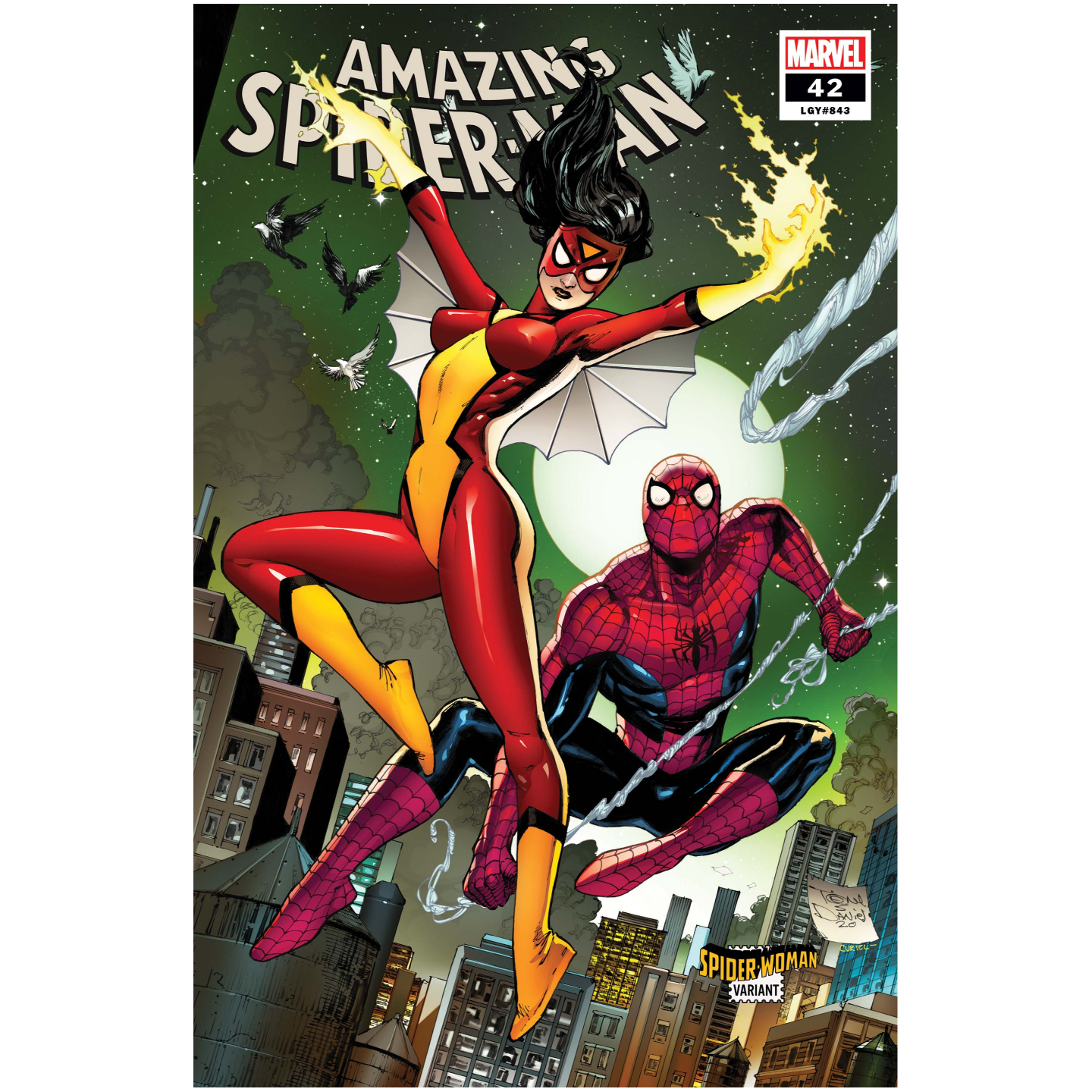 AMAZING SPIDER-MAN 42 DANIEL SPIDER-WOMAN VAR