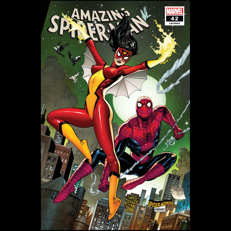 AMAZING SPIDER-MAN #42 DANIEL SPIDER-WOMAN VAR
