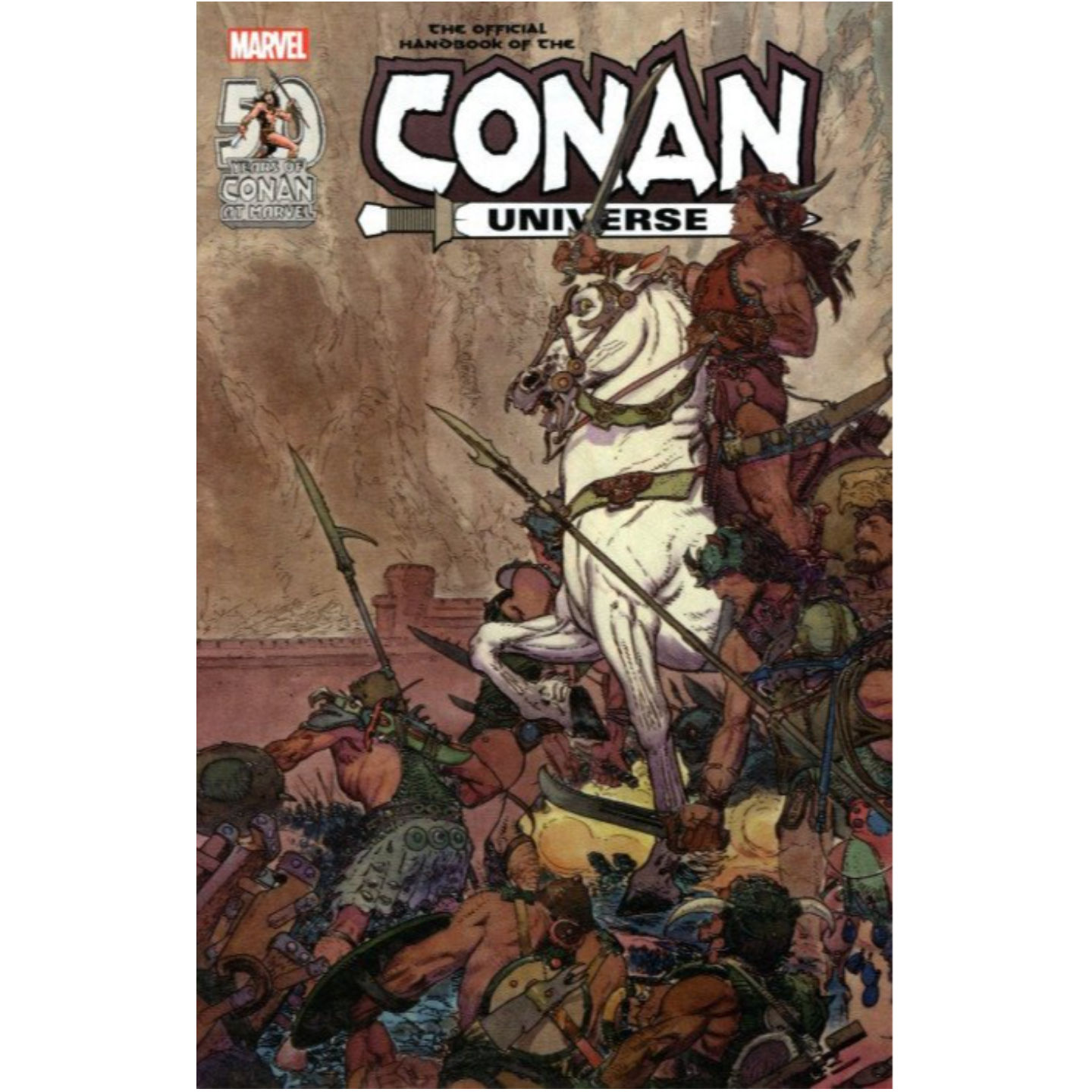 OFFICIAL HANDBOOK OF CONAN UNIVERSE ANNIVERSARY EDITION