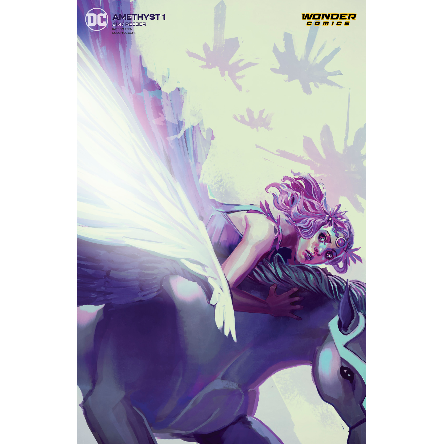 AMETHYST 1 OF 6 CARD STOCK STEPHANIE HANS VAR ED