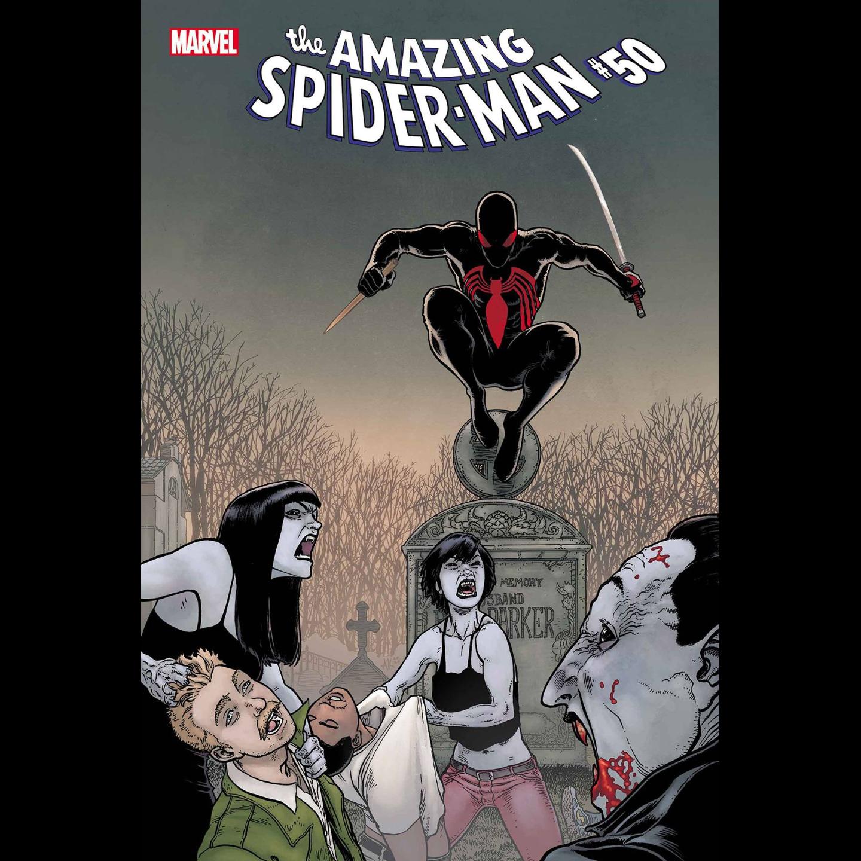 AMAZING SPIDER-MAN #50 KUDER SPIDER-MAN VAMPIRE HUNTER HORRO