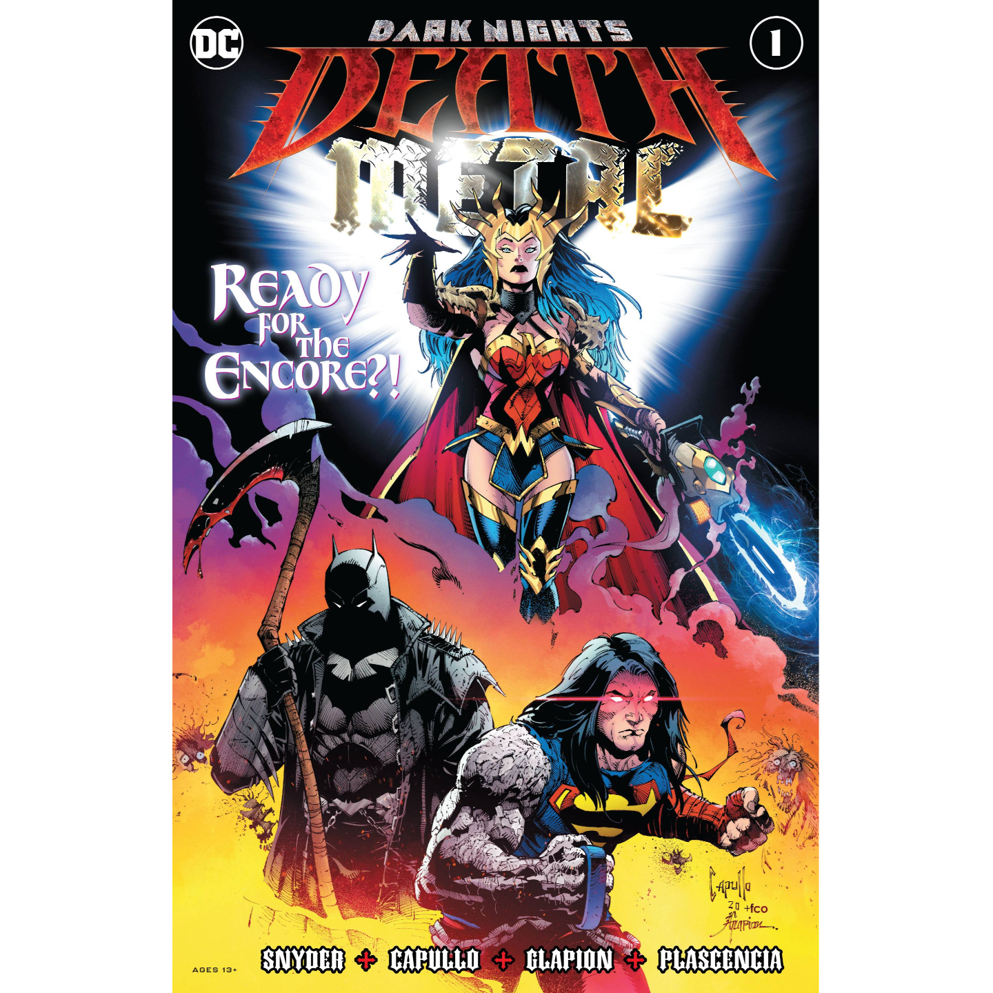 DARK NIGHTS DEATH METAL 1 OF 6