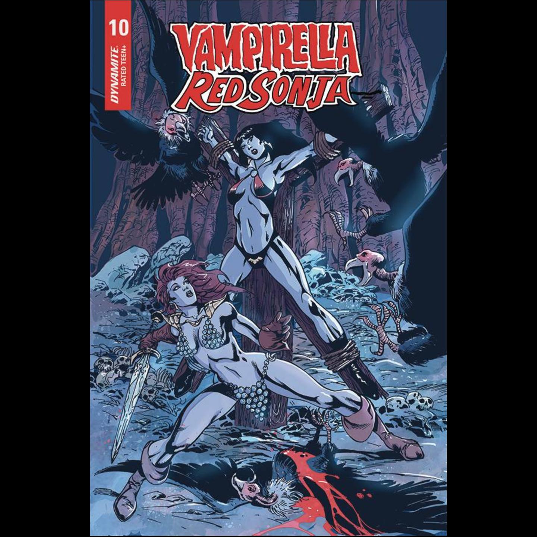 VAMPIRELLA RED SONJA #10 CASTRO BONUS FOC VAR