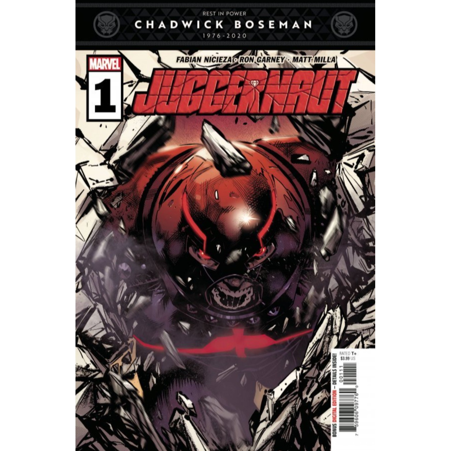 JUGGERNAUT #1 (OF 5) DX