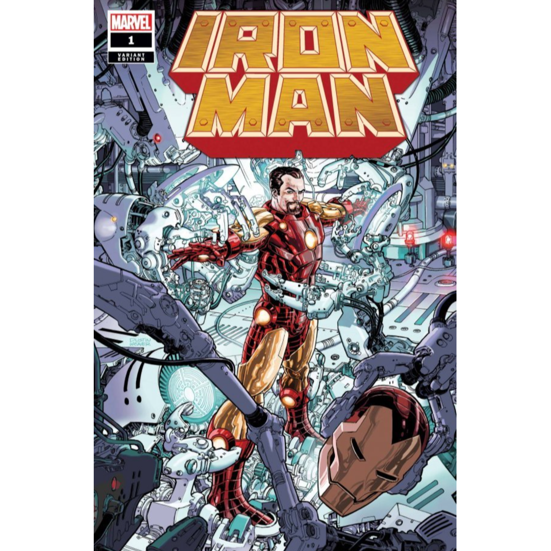 IRON MAN #1 WEAVER VAR