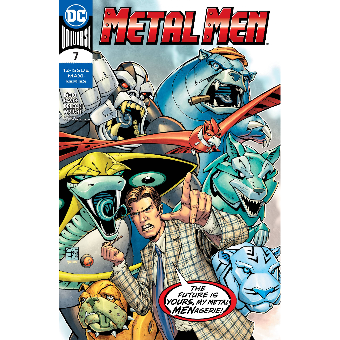 METAL MEN #7 (OF 12)