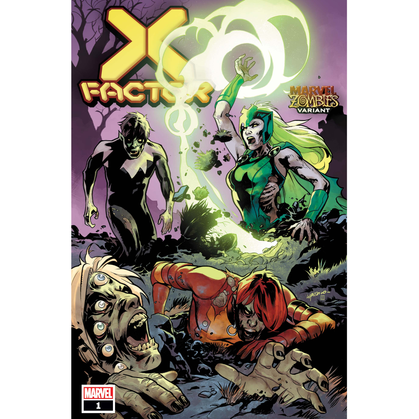 X-FACTOR #1 LUPACCHINO MARVEL ZOMBIES VAR