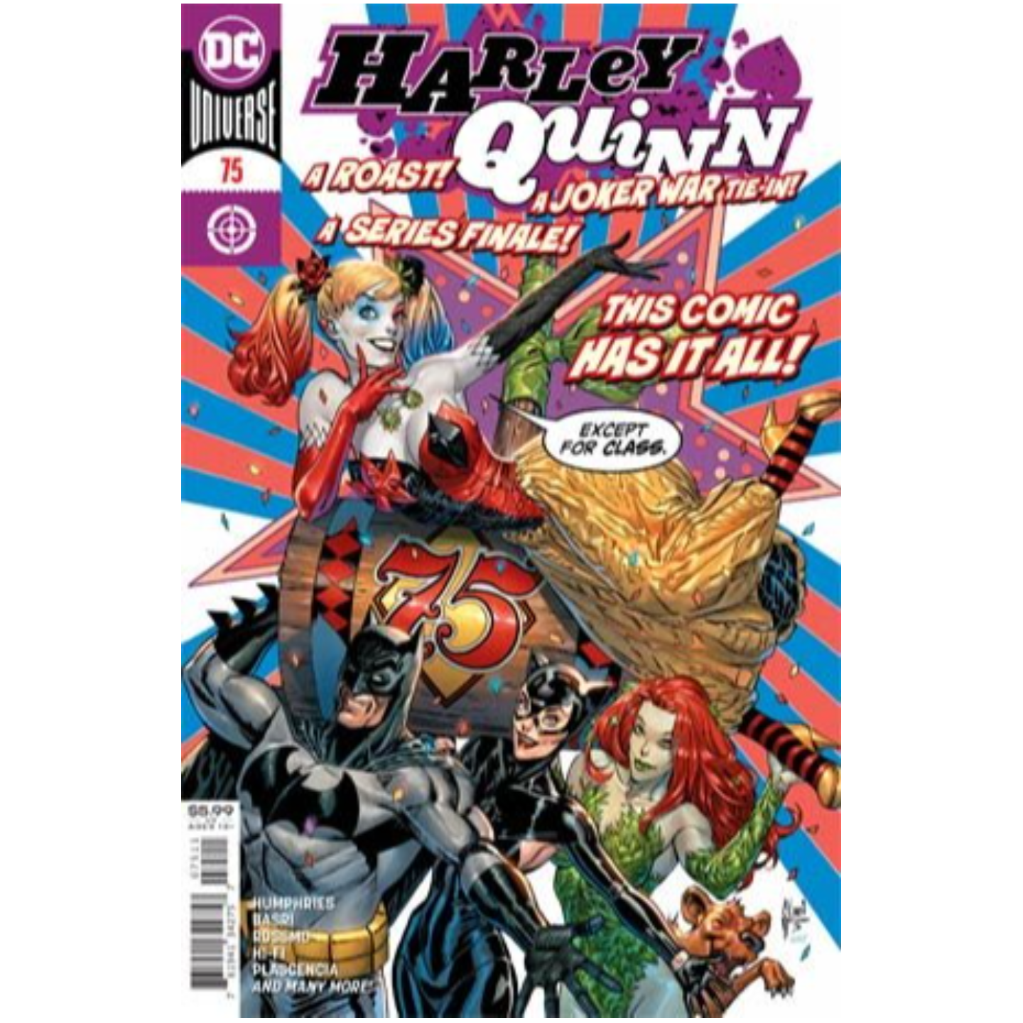 HARLEY QUINN #75 (NOTE PRICE)