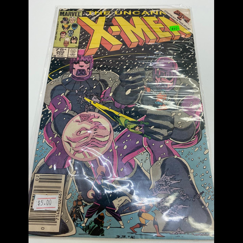 UNCANNY X-MEN #202