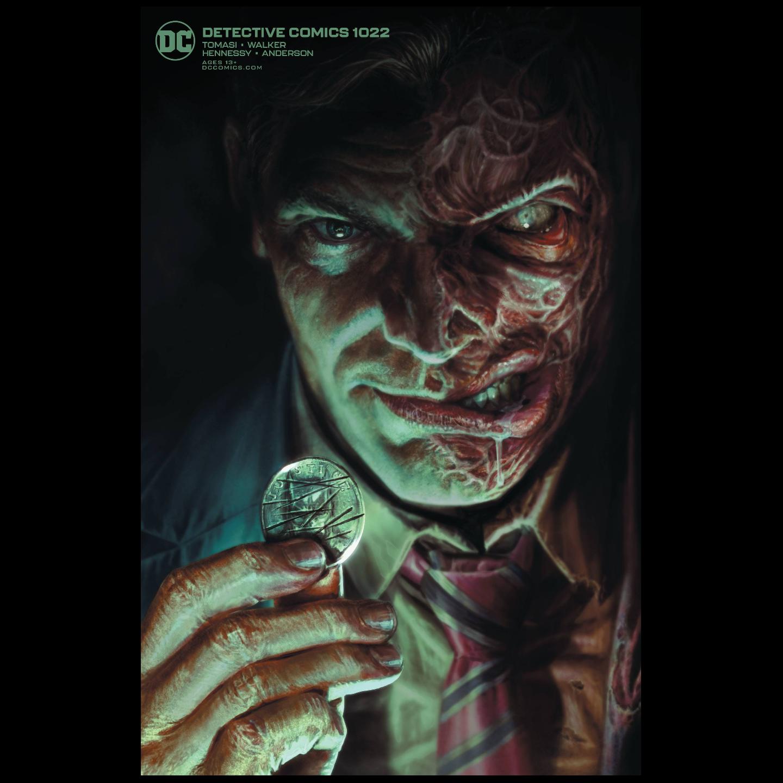 DETECTIVE COMICS #1022 CARD STOCK LEE BERMEJO VAR ED