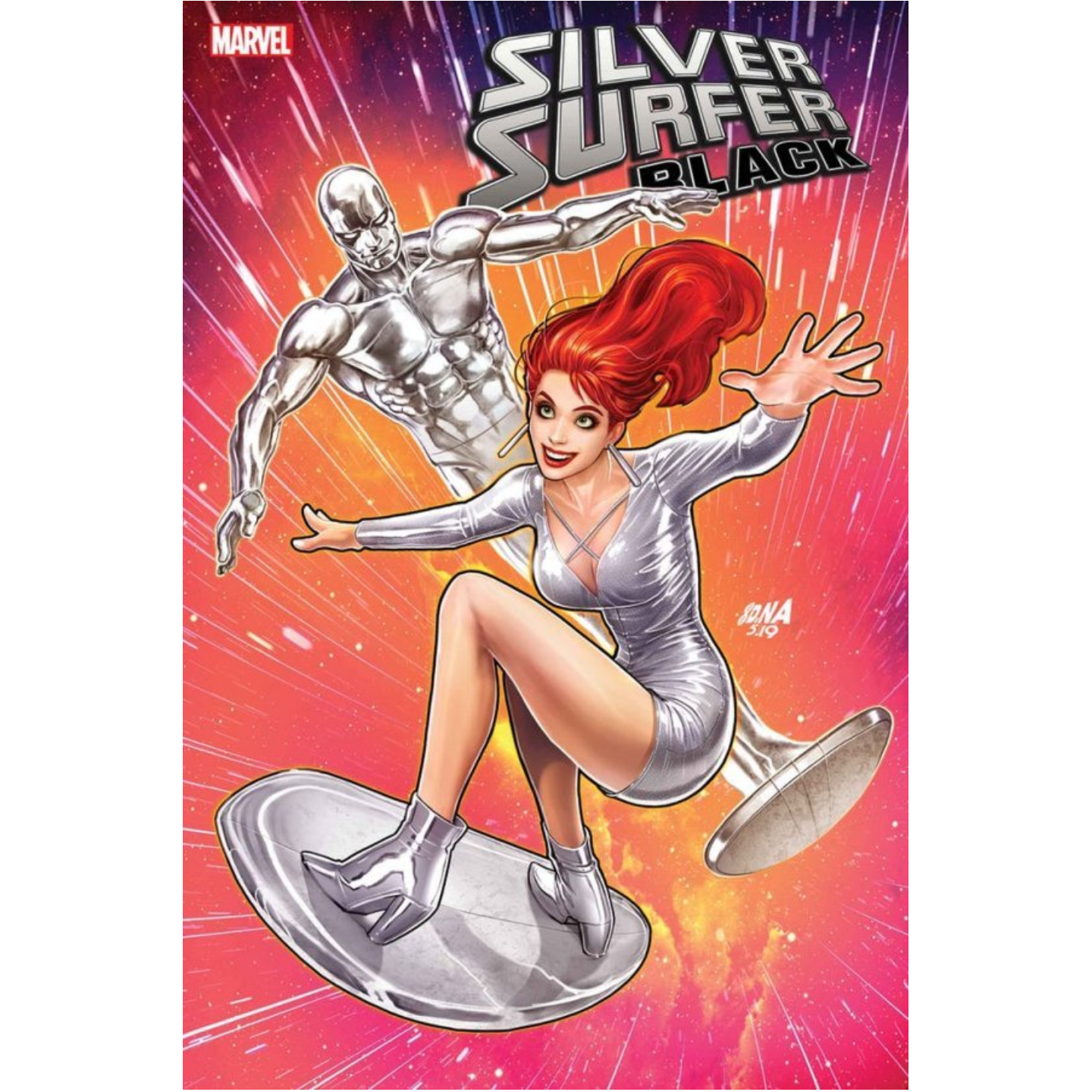 SILVER SURFER: BLACK #5 DAVID NAKAYAMA MARY JANE VARIANT