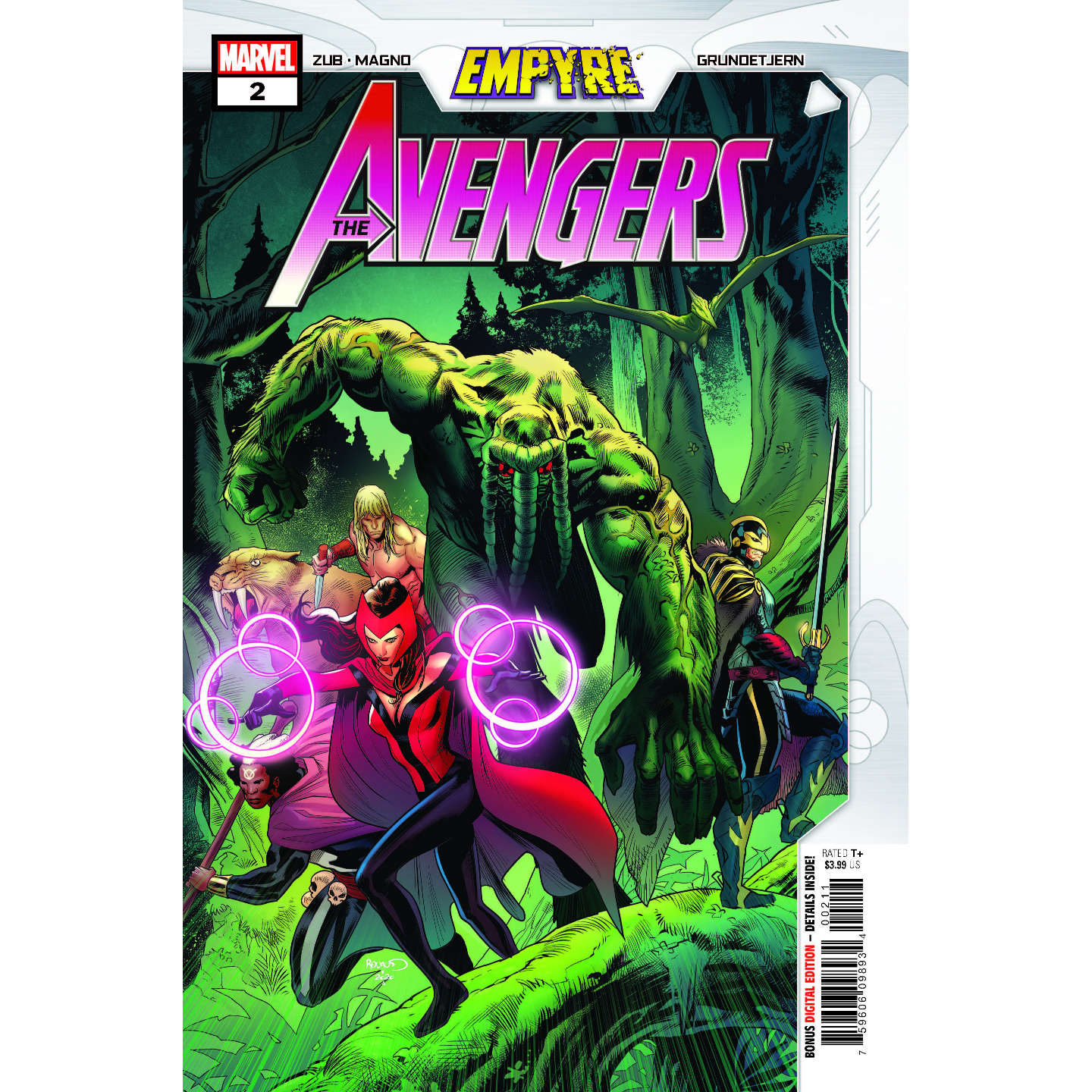 EMPYRE AVENGERS #2 (OF 3)