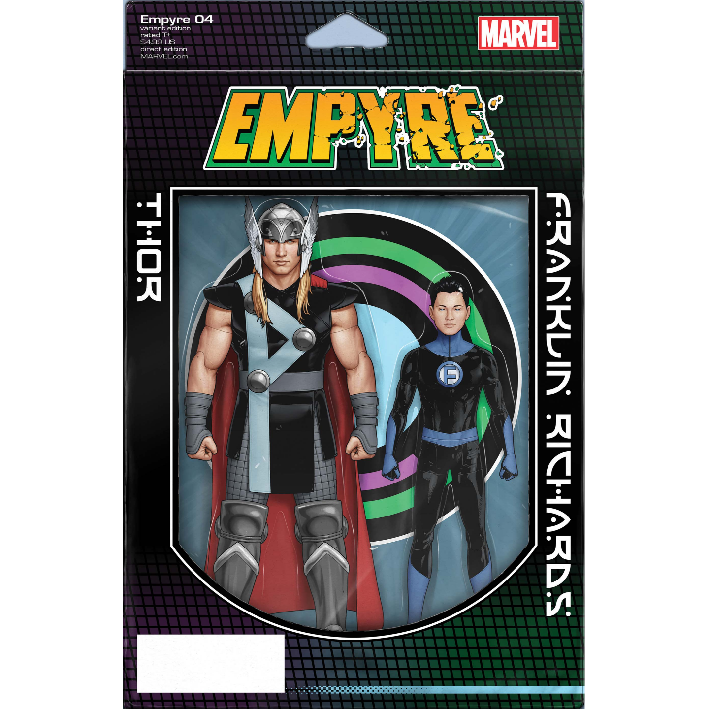 EMPYRE #4 (OF 6) CHRISTOPHER 2-PACK ACTION FIGURE VAR