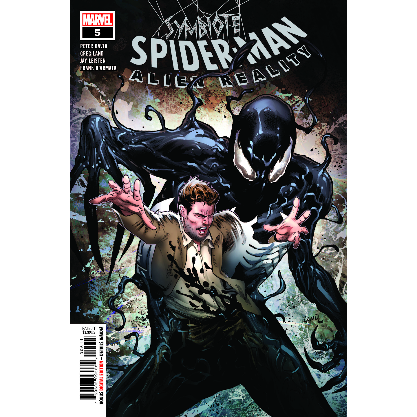 SYMBIOTE SPIDER-MAN ALIEN REALITY #5 (OF 5)