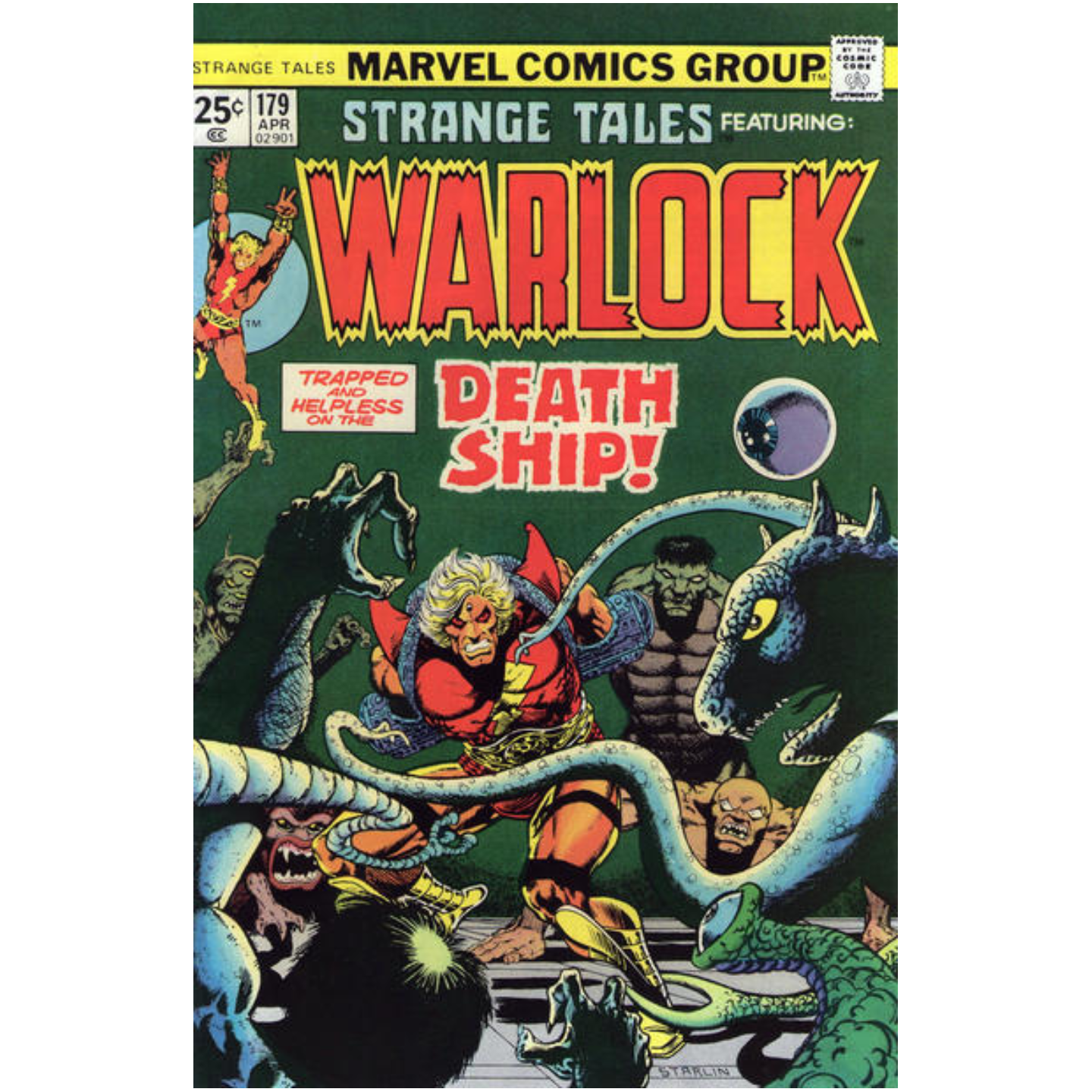 STRANGE TALES FEATURING WARLOCK #179 (KEY ISSUE)