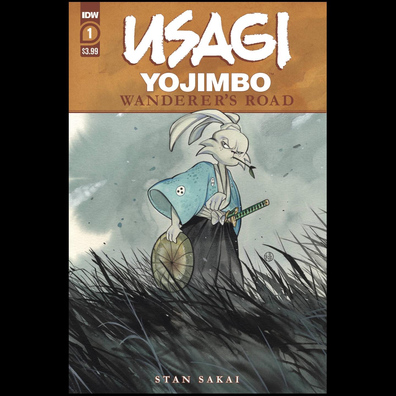 USAGI YOJIMBO WANDERERS ROAD #1 PEACH MOMOKO CVR