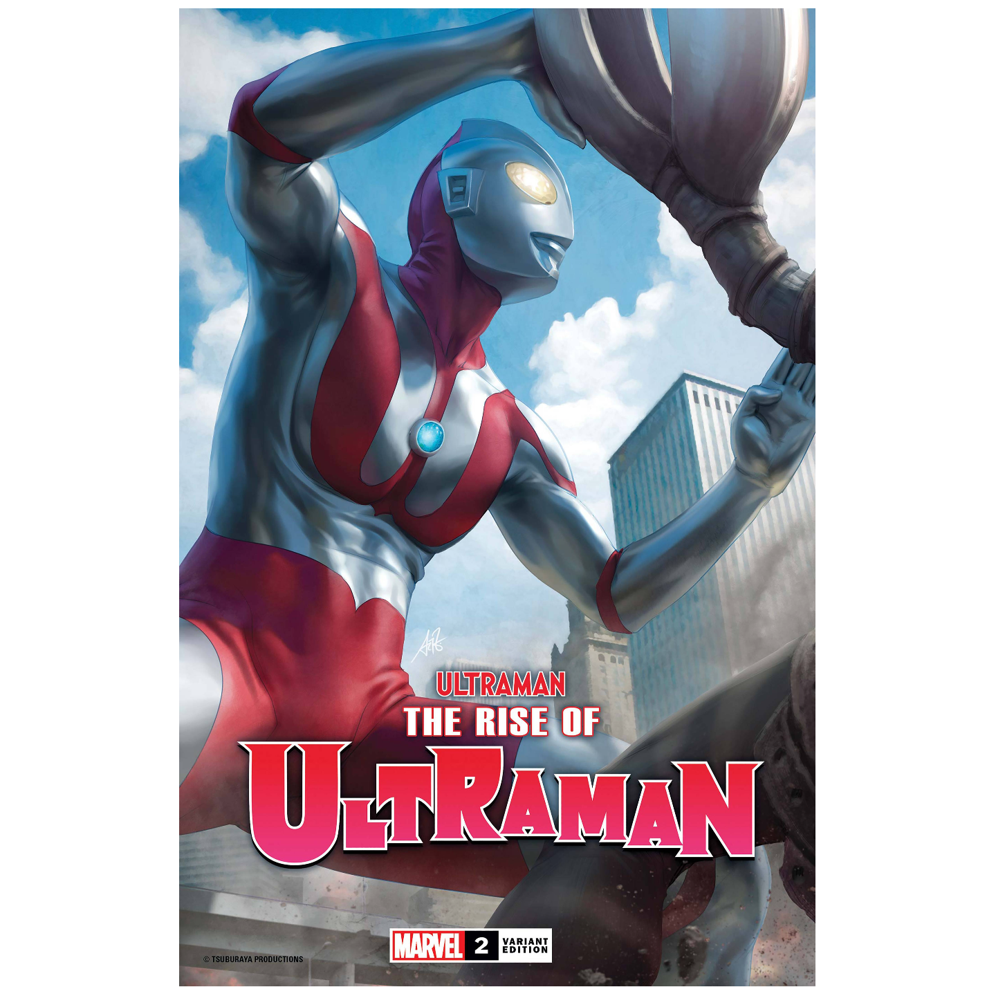 RISE OF ULTRAMAN #2 (OF 5) ARTGERM VAR