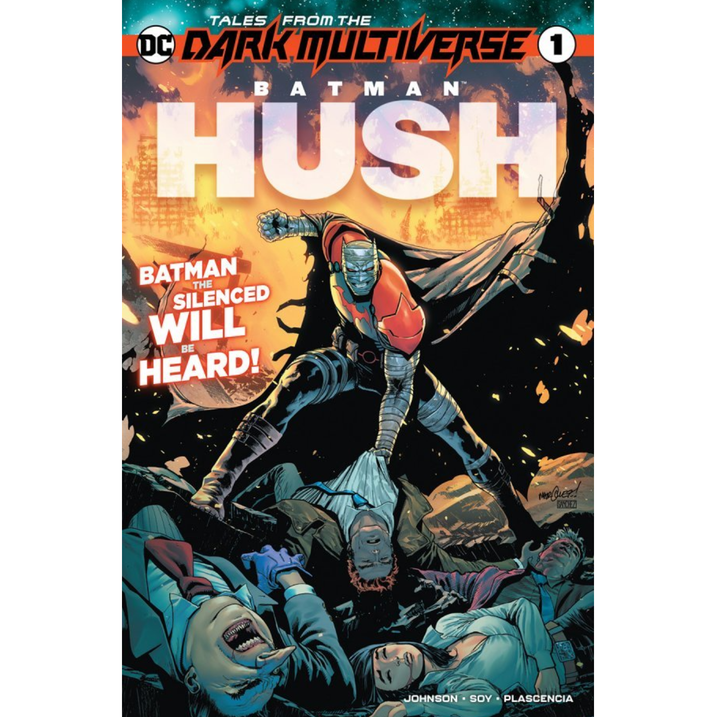 TALES FROM THE DARK MULTIVERSE BATMAN HUSH #1 (ONE SHOT)