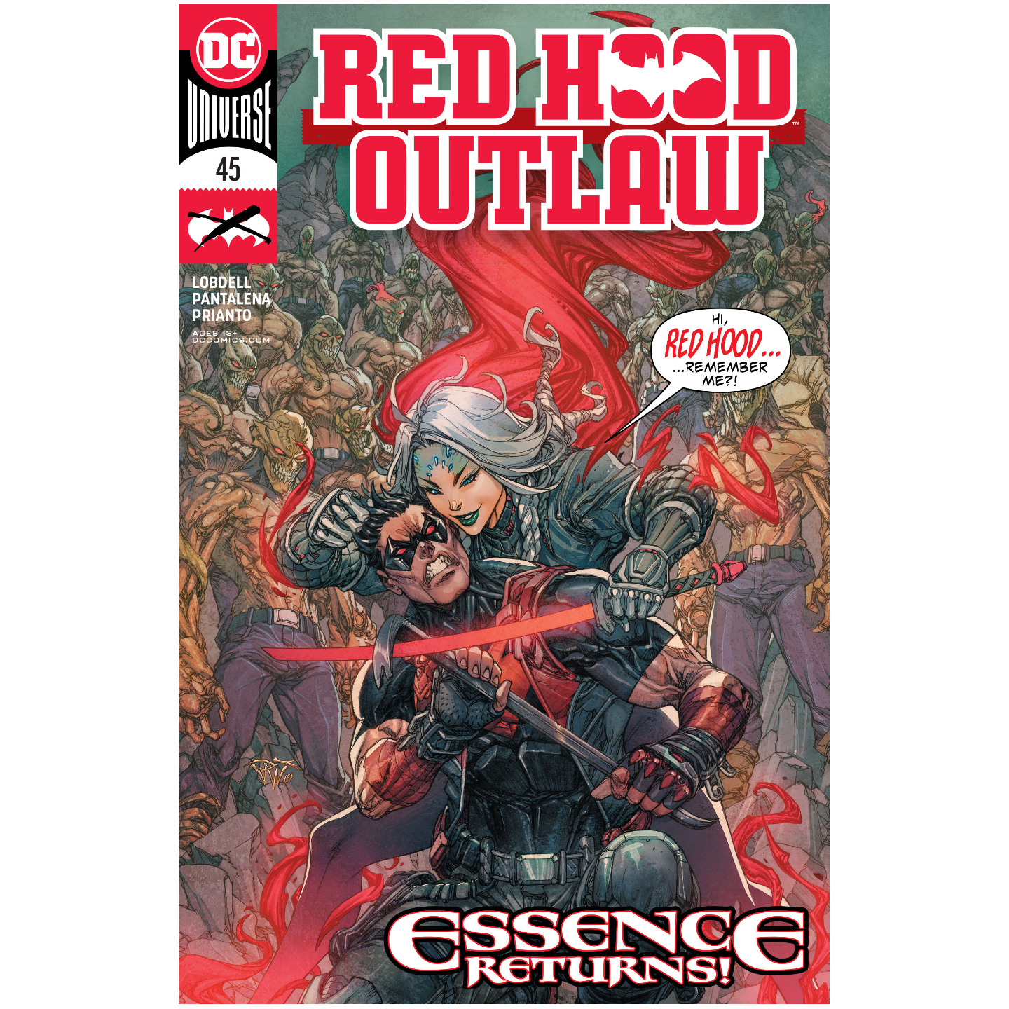 RED HOOD OUTLAW 45