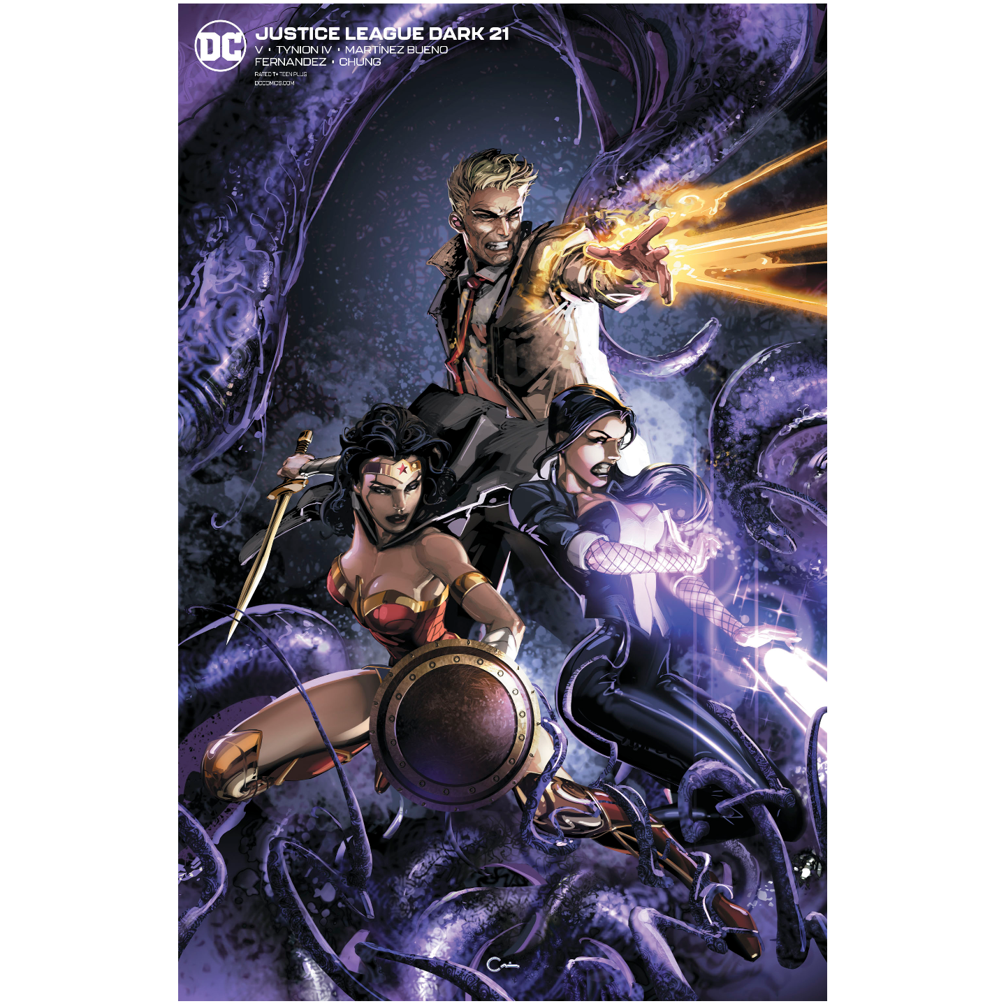 JUSTICE LEAGUE DARK 21 CLAYTON CRAIN VAR ED