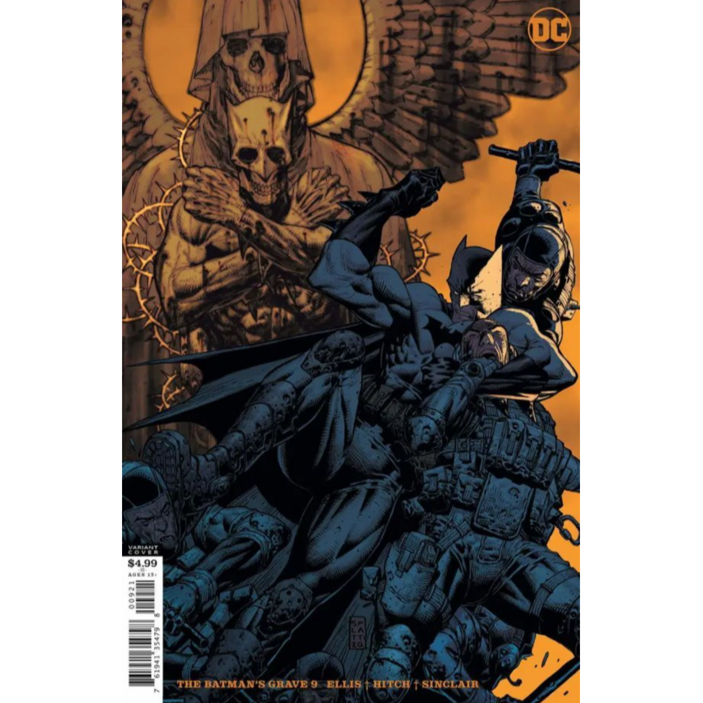 BATMANS GRAVE #9 (OF 12) CVR B STEPHEN PLATT CARD STOCK VAR