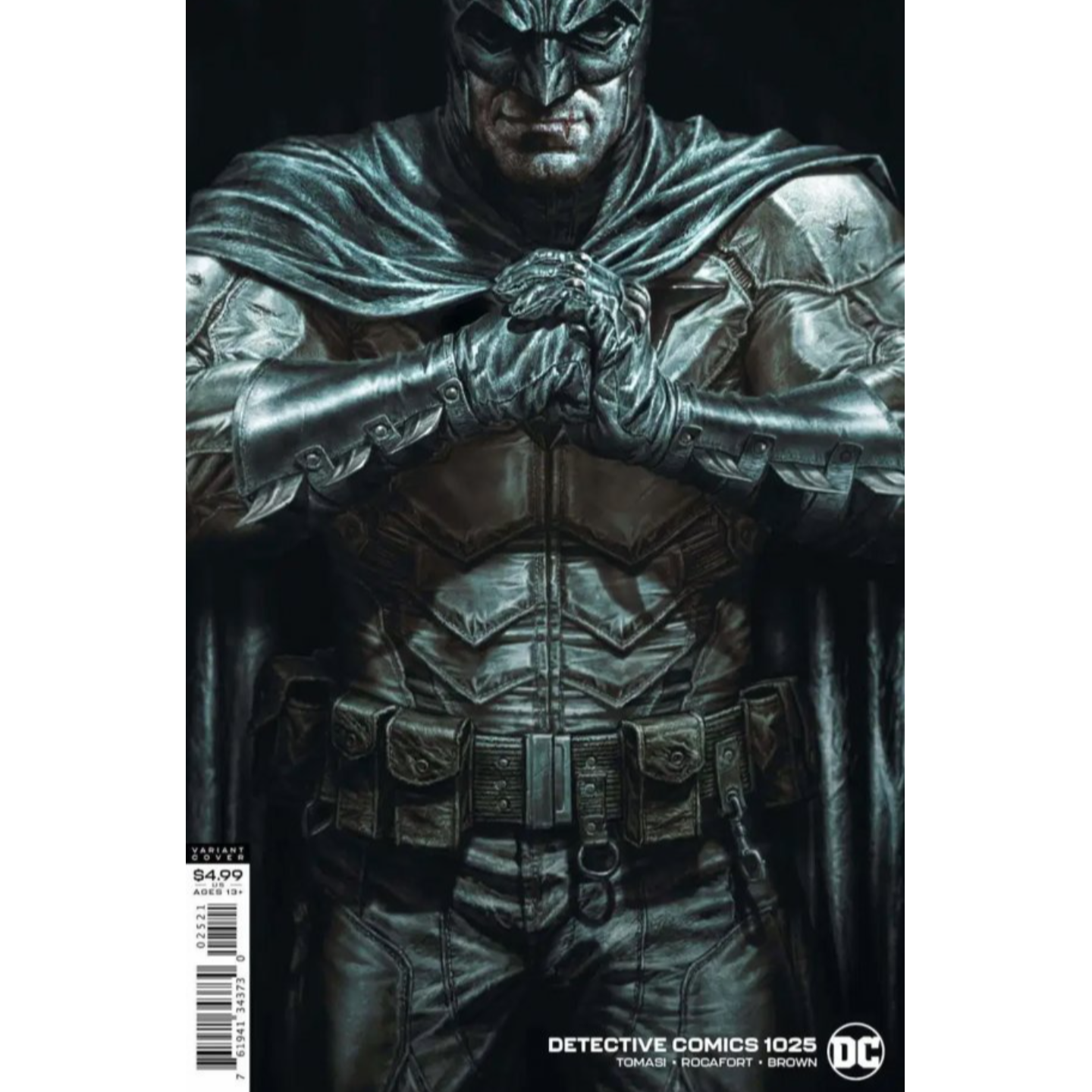 DETECTIVE COMICS #1025 CVR B LEE BERMEJO CARD STOCK VAR (JOKER WAR)