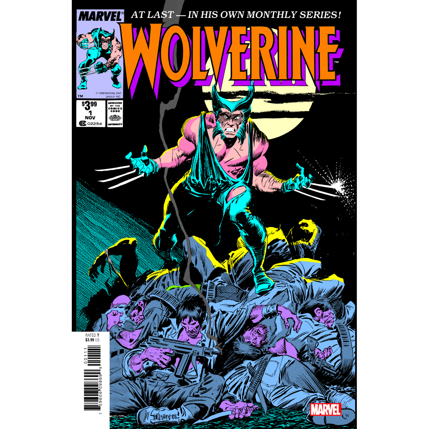 WOLVERINE BY CLAREMONT & BUSCEMA 1 FACSIMILE EDITION