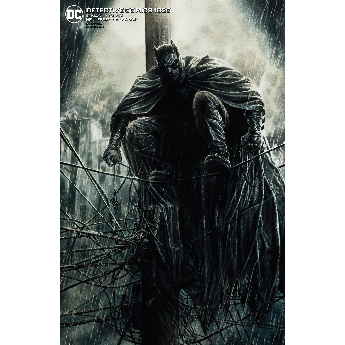DETECTIVE COMICS 1020 CARD STOCK LEE BERMEJO VAR ED