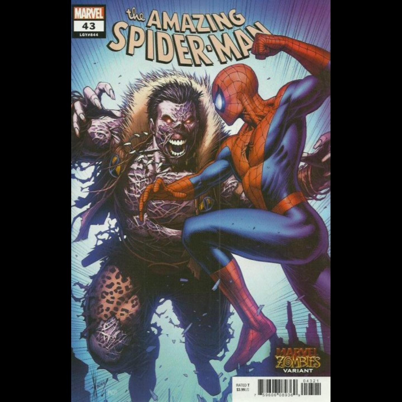 AMAZING SPIDER-MAN #43 ZOMBIE VARIANT