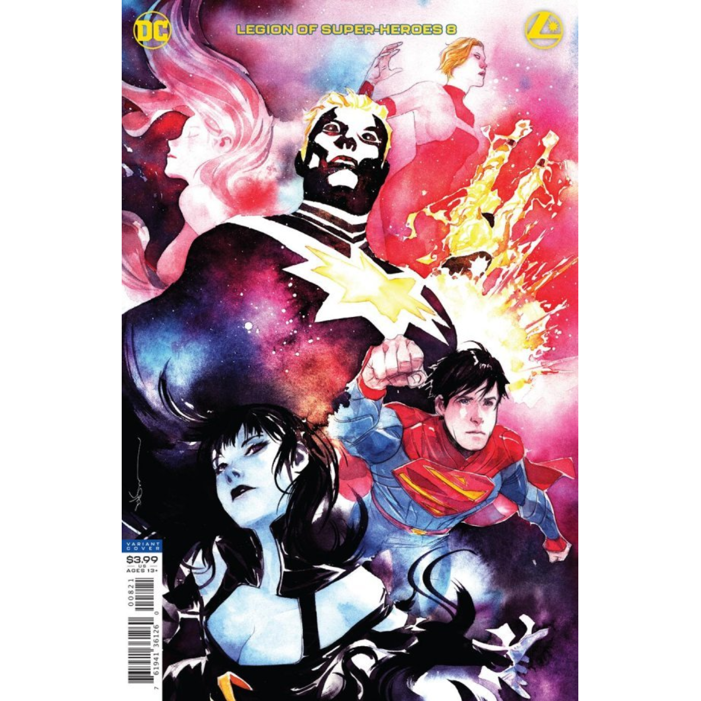 LEGION OF SUPER HEROES #8 DUSTIN NGUYEN VAR ED