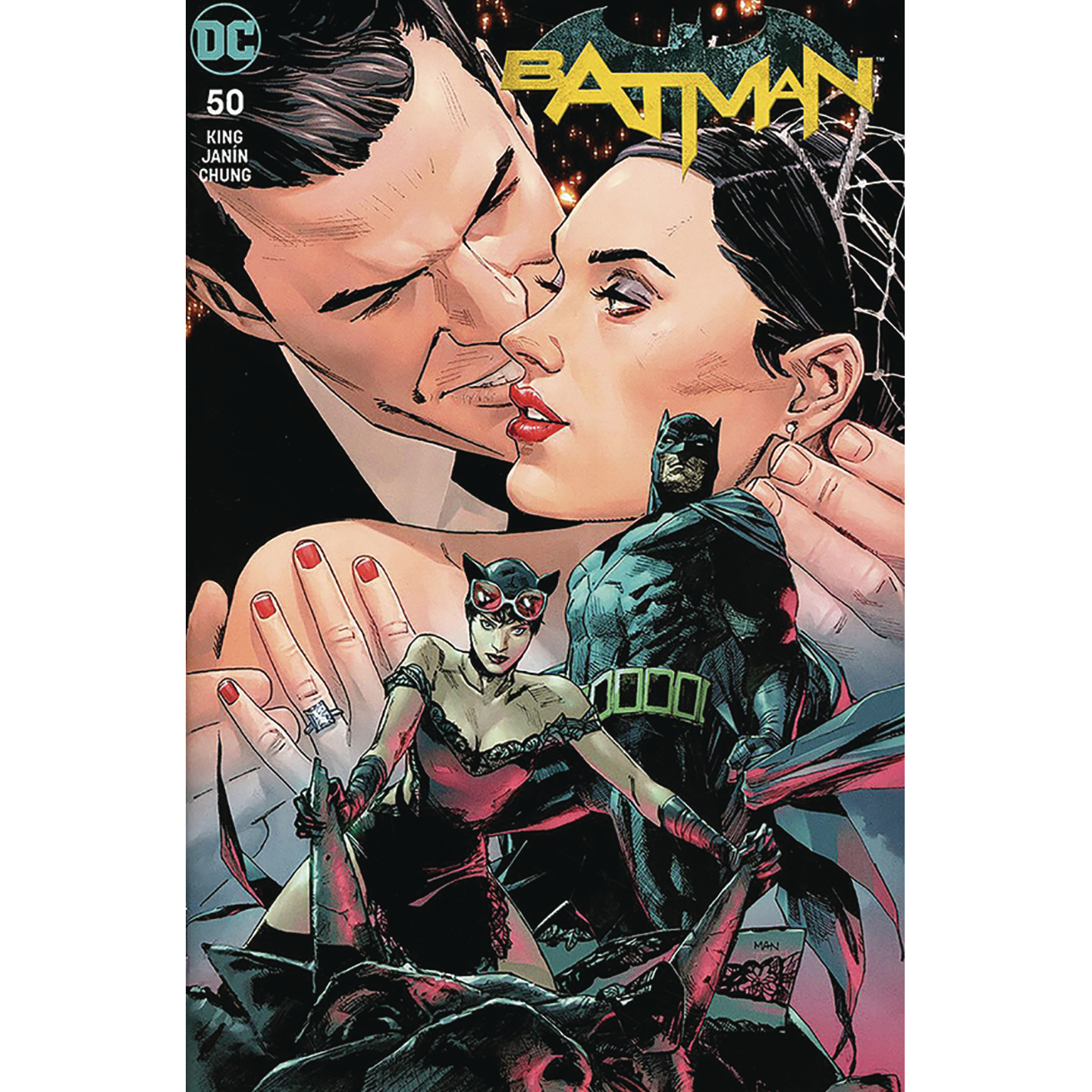 BATMAN 50 ROMANCE EXC SGN KING & MANN