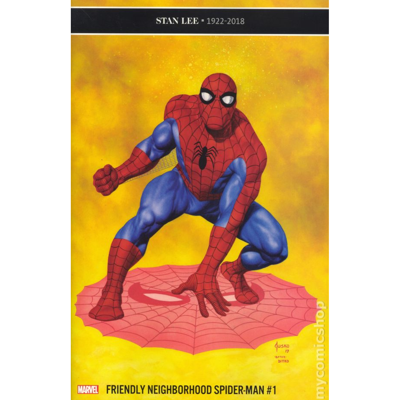 FRIENDLY NEIGHBORHOOD SPIDER-MAN #1 - JUSKO VAR