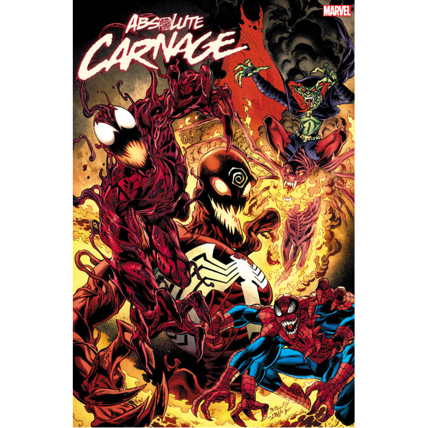 ABSOLUTE CARNAGE #5 - CULT OF CARNAGE VARIANT - BAGLEY