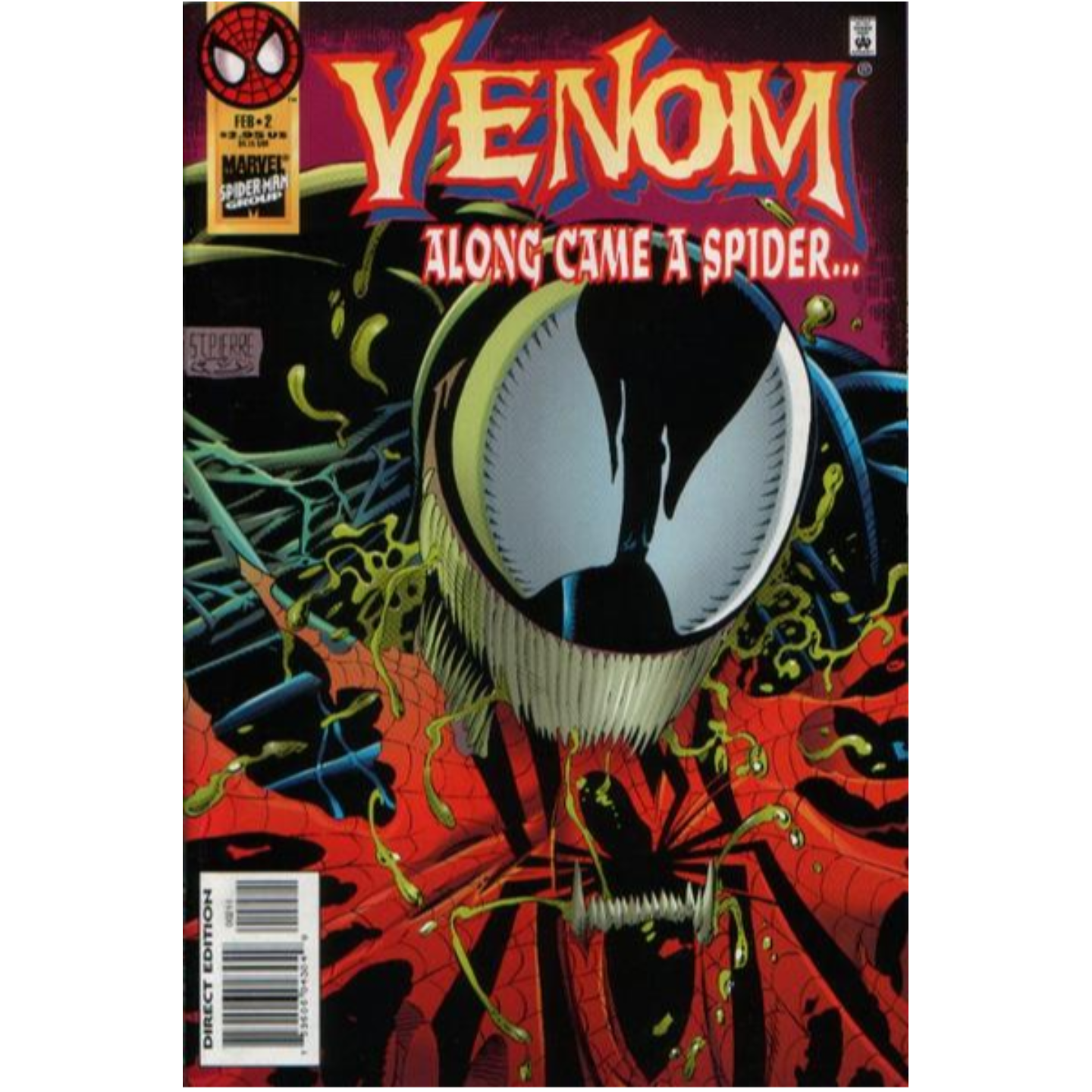 VENOM ALONG CAME A SPIDER 1-4 LOT KEY COLLECTION