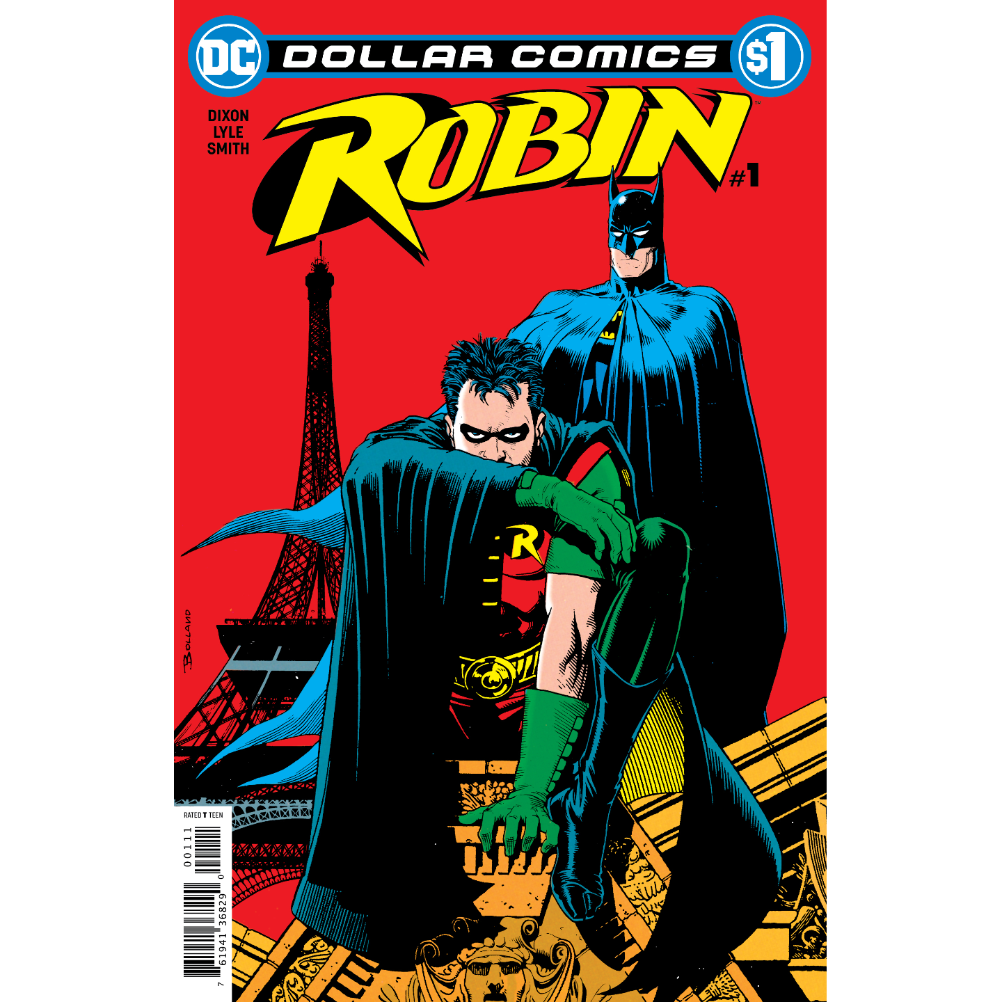 DOLLAR COMICS ROBIN 1 1991