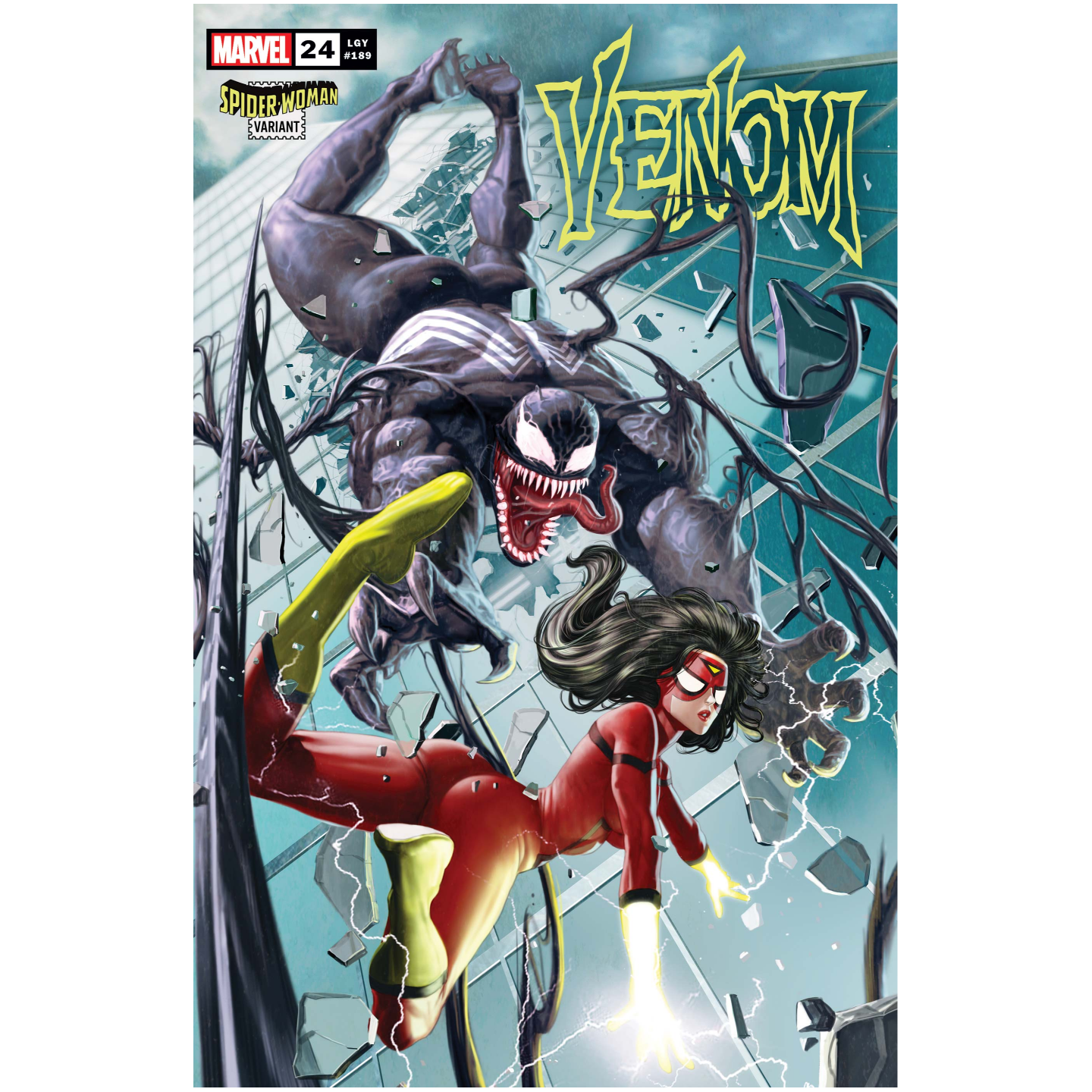 VENOM 24 ROCK-HE KIM SPIDER-WOMAN VAR