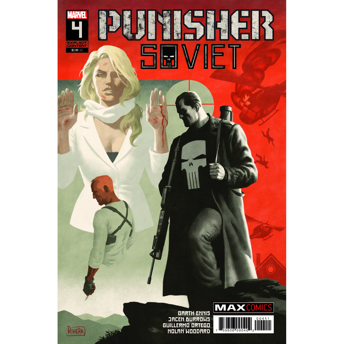 PUNISHER SOVIET 4 OF 6 MR