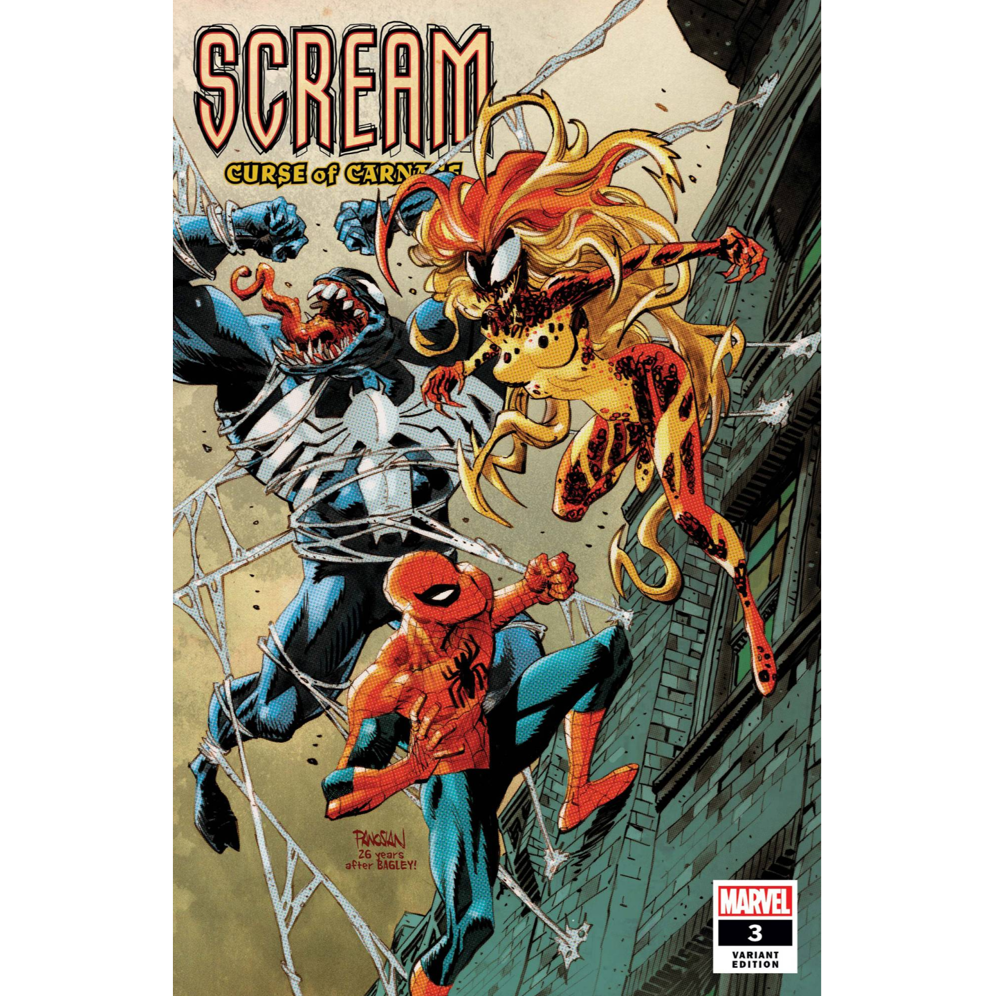 SCREAM: CURSE OF CARNAGE #3 - PANOSIAN VAR