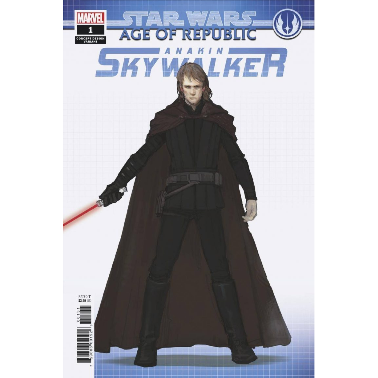 STAR WARS: AGE OF THE REPUBLIC - ANAKIN SKYWALKER - CONCEPT VAR