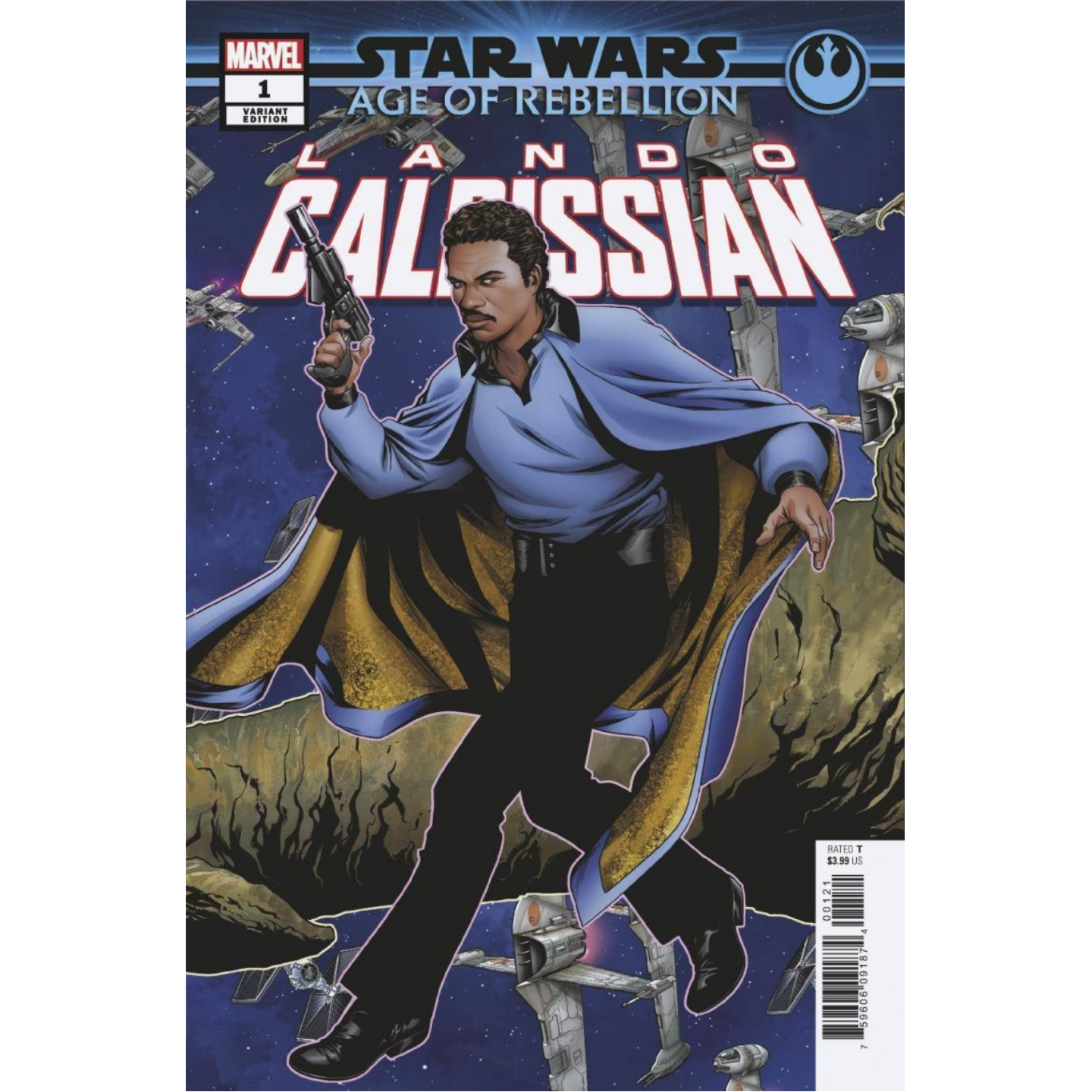 STAR WARS AGE OF REBELLION - LANDO CALRISSIAN - MCKONE VAR