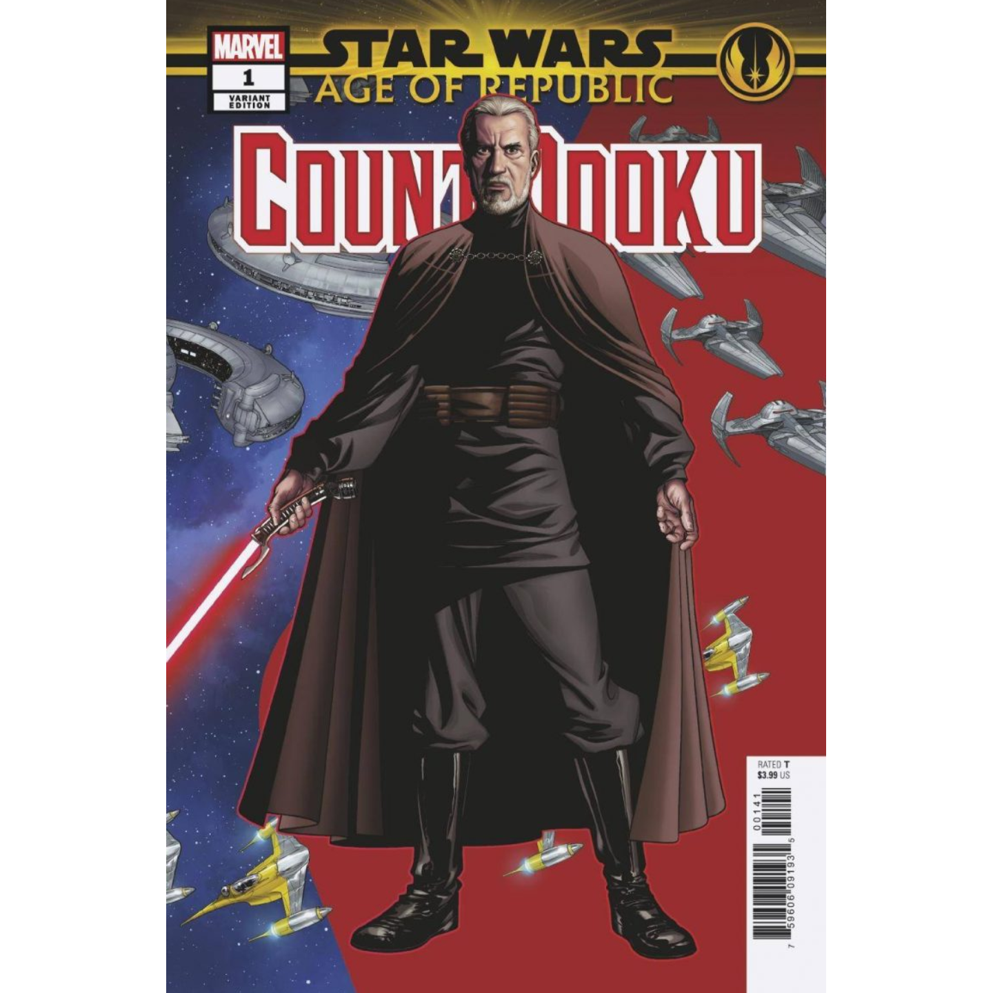 STAR WARS AGE OF THE REPUBLIC - COUNT DOOKU - MCKONE VAR