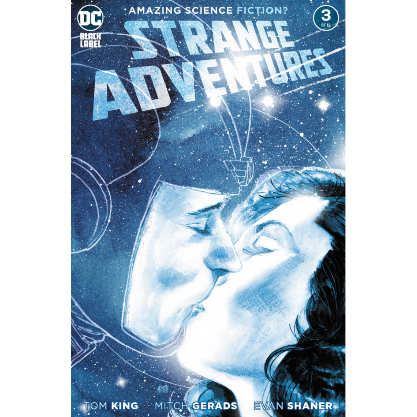 STRANGE ADVENTURES #3 (OF 12) CVR A MITCH GERADS