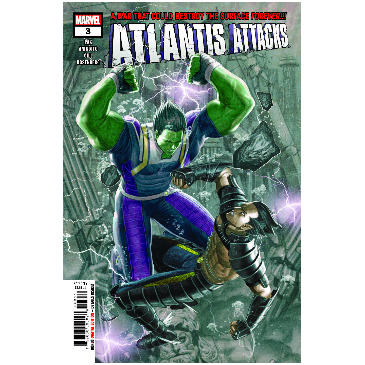 ATLANTIS ATTACKS 3 OF 5