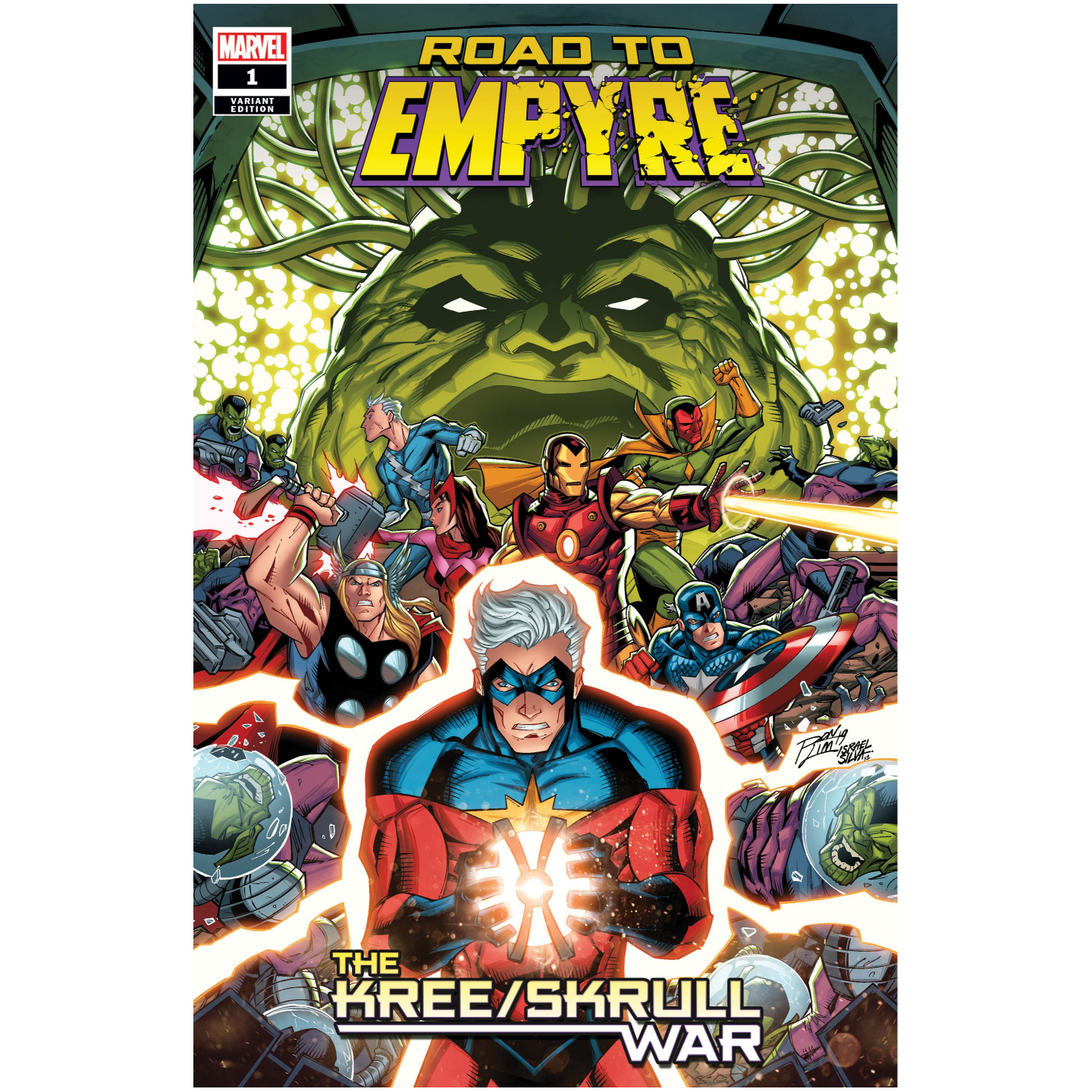ROAD TO EMPYRE KREE SKRULL WAR 1 RON LIM VAR