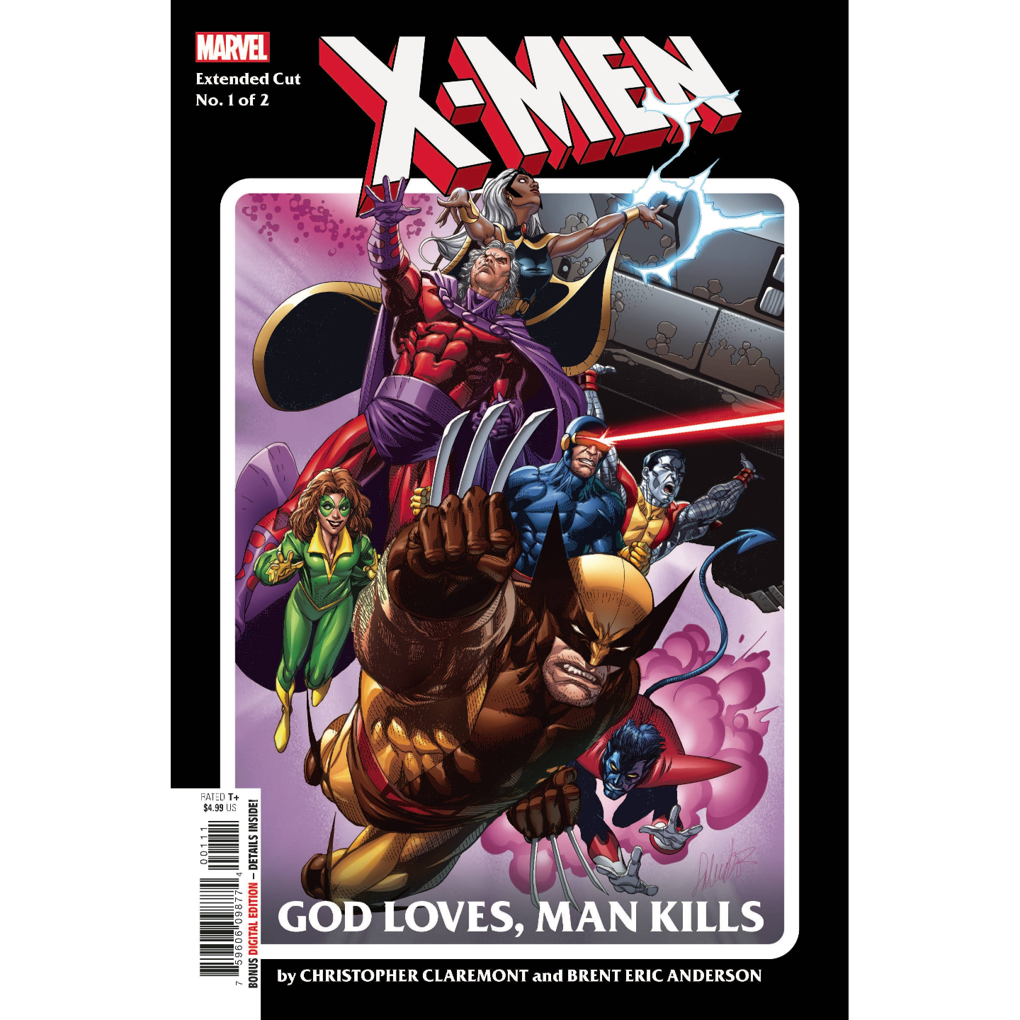 X-MEN GOD LOVES MAN KILLS EXTENDED CUT #1 (OF 2)