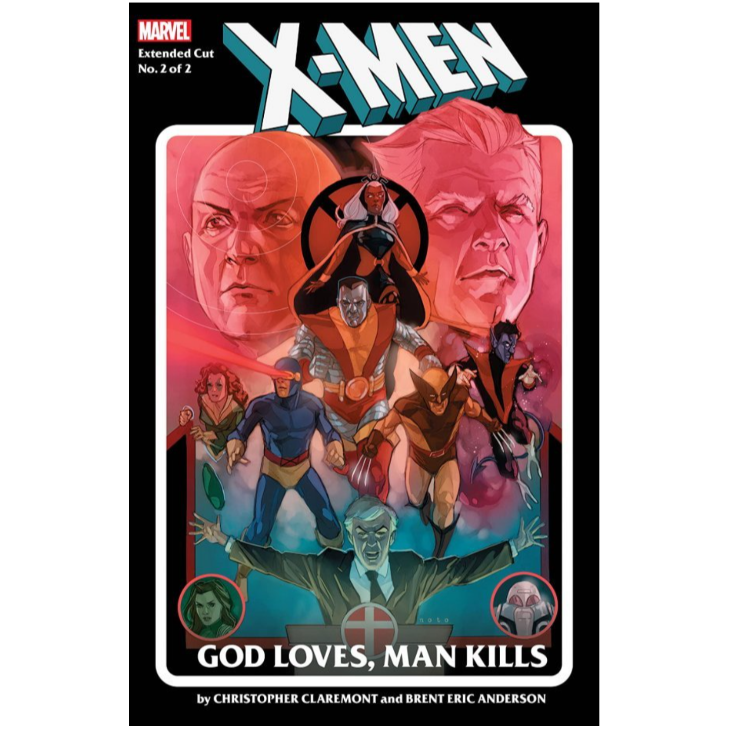 X-MEN GOD LOVES MAN KILLS EXTENDED CUT #2 (OF 2)