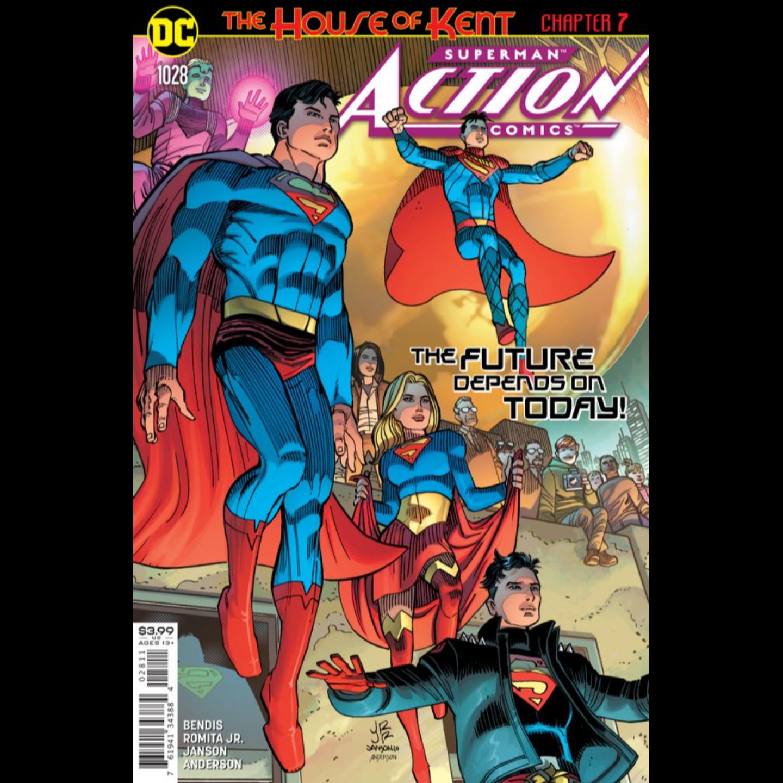 ACTION COMICS #1028 CVR A JOHN ROMITA JR & KLAUS JANSON